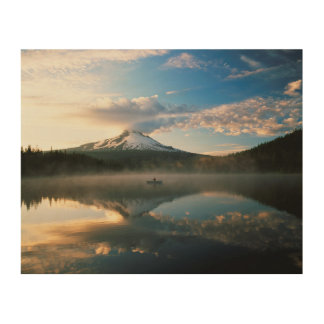 Trillium Lake | Mount Hood National Forest, OR Wood Wall Decor