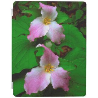 Trillium Wildflower iPad Cover
