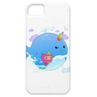 Trilly & Narwhal iPhone 5 Cover