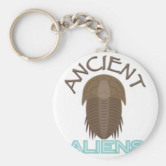 Trilobite Ancient Aliens Basic Round Button Key Ring