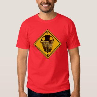 TRILOBITE Road Sign T Shirts