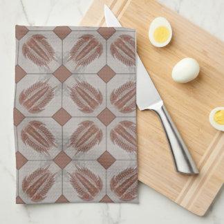 Trilobite Tile Tea Towel