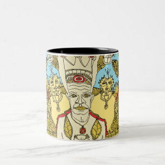 trilogy of the king Two-Tone mug