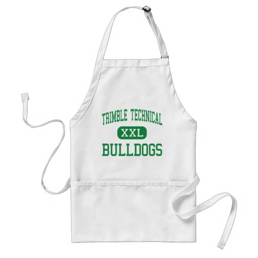 Trimble Technical - Bulldogs - High - Fort Worth Aprons