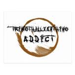 TriMeth Addict Postcard