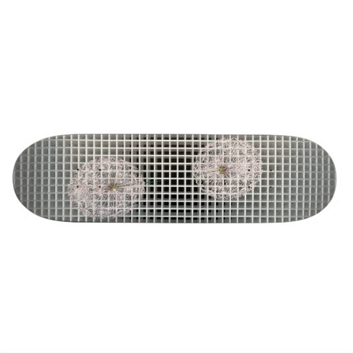 trims with dandelions skate deck