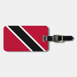 Trini Flag Luggage Tag