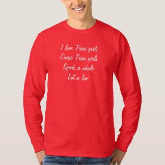 Trini  girls tshirt