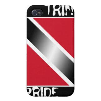 Trini Pride Trinidad & Tobago Iphone Case iPhone 4/4S Case