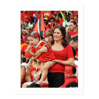 Trini Supporters Postcard