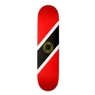 Trinidad and Tobago 19.7 Cm Skateboard Deck