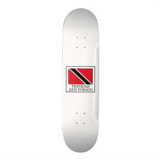 Trinidad and Tobago 21.3 Cm Mini Skateboard Deck