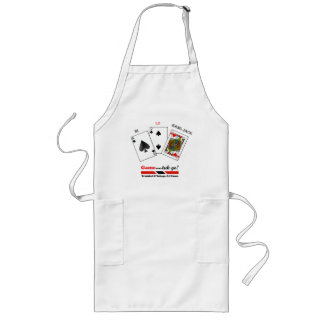 Trinidad and Tobago All Fours Game Long Apron