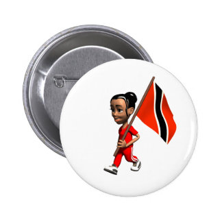 Trinidad and Tobago Button