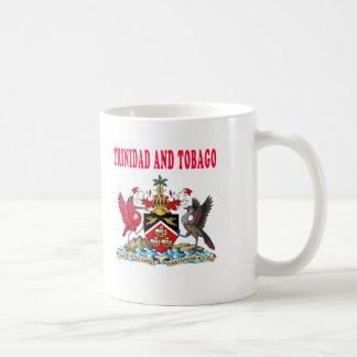 Trinidad and Tobago Coat Of Arms Designs Mugs