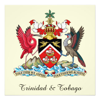 Trinidad and Tobago Coat Of Arms Photograph