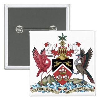 Trinidad and Tobago Crest Shield Button