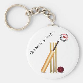 Trinidad And Tobago Cricket Key Ring
