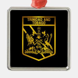 Trinidad and Tobago Emblem Christmas Ornament