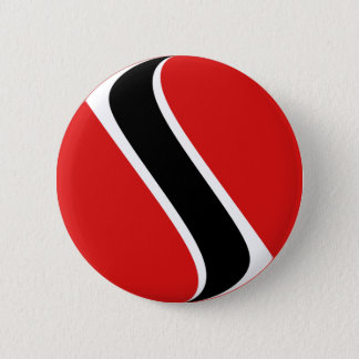 Trinidad and Tobago Fisheye Flag Button