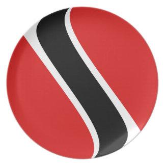 Trinidad and Tobago Fisheye Flag Plate