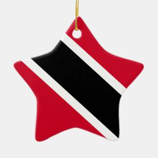 Trinidad and Tobago Flag Christmas Ornament