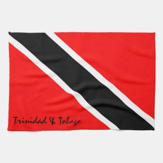 Trinidad and Tobago Flag Kitchen Towel