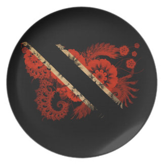 Trinidad and Tobago Flag Plate