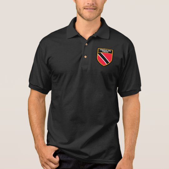 Trinidad and Tobago Flag Polo Shirt
