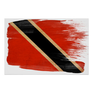 Trinidad and Tobago Flag Posters