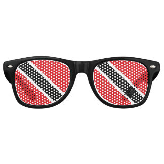 Trinidad and Tobago Flag Retro Sunglasses