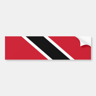 Trinidad and Tobago Flag Sea Sun Sand National Bumper Stickers