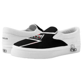 Trinidad and Tobago Flag Slip-On Shoes