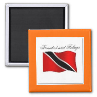 Trinidad And Tobago Flag T-shirt And Etc Magnets