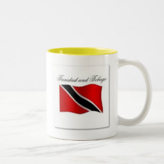 Trinidad And Tobago Flag T-shirt And Etc Two-Tone Coffee Mug