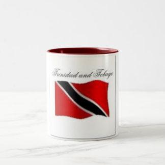 Trinidad And Tobago Flag T-shirt And Etc Two-Tone Coffee Mug