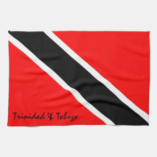 Trinidad and Tobago Flag Tea Towel