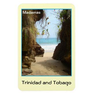 Trinidad and Tobago Madamas Beach Magnet