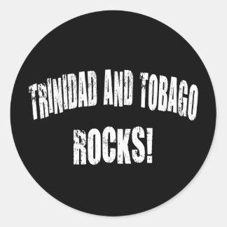 Trinidad and Tobago Rocks! Classic Round Sticker