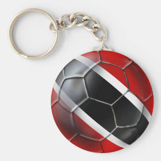 Trinidad and Tobago Soca Warriors Basic Round Button Key Ring