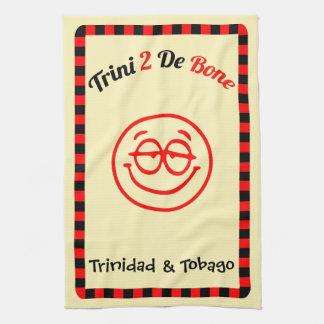 Trinidad and Tobago Trini 2 De Bone Hand Towel