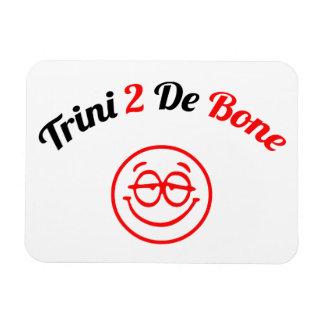 Trinidad and Tobago Trini To The Bone Rectangular Photo Magnet