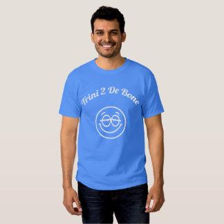 Trinidad and Tobago Trini To The Bone Smiley Tshirts