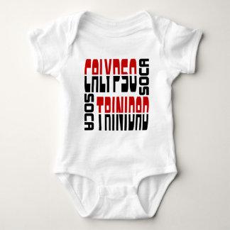 Trinidad Calypso Soca Cube Baby Bodysuit