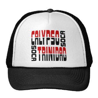Trinidad Calypso Soca Cube Trucker Hats