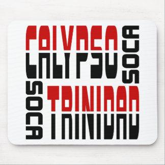 Trinidad Calypso Soca Cube Mouse Pad