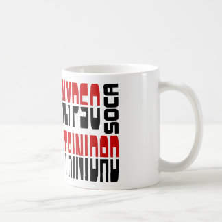 Trinidad Calypso Soca Cube Basic White Mug