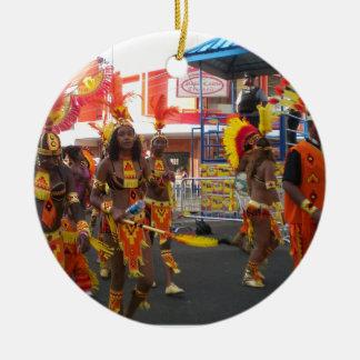 Trinidad Carnival Christmas Ornament