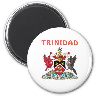 Trinidad Coat Of Arms 6 Cm Round Magnet