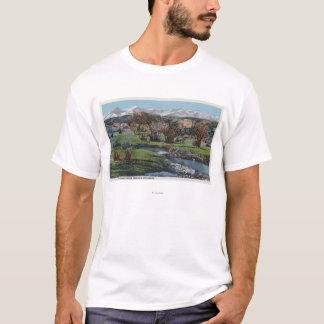 Trinidad, Colorado - Snowy Range & Valley View T-Shirt